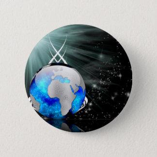 Around The World 2 Inch Round Button