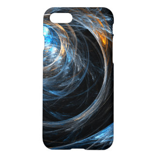 Around the World Abstract Art Matte iPhone 7 Case