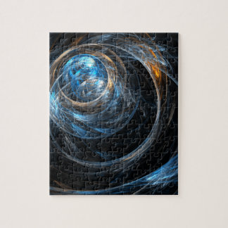 Around the World Abstract Art Puzzles