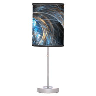 Around the World Abstract Art Table Lamp