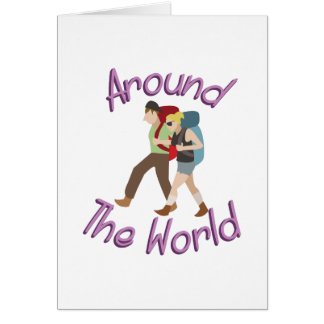 Around the World Card