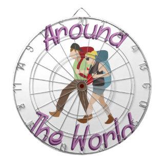 Around the World Dartboard