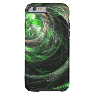 Around the World Green Abstract Art iPhone 6 Case