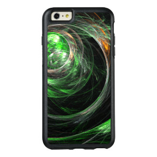 Around the World Green Abstract Art OtterBox iPhone 6/6s Plus Case