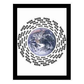 Around the World in 80 Days Postcard