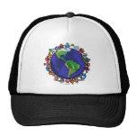 Around the World Trucker Hat