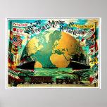 Around The World Voyage Vintage Travel