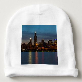 Around Willis At Night Baby Beanie