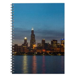 Around Willis At Night Notebooks