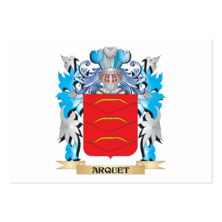 Arquet Coat Of Arms Business Cards