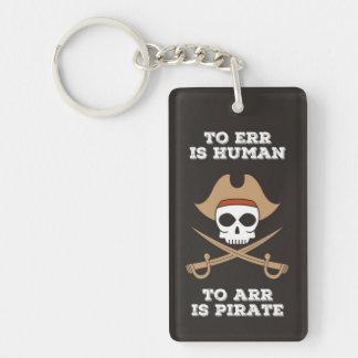 Arr Like a Pirate Keychain