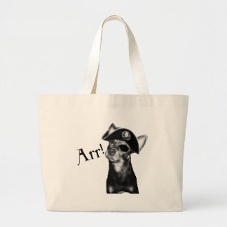 ARR Pooch Pirate Canvas Bag