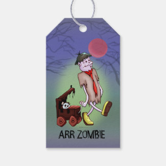 ARR ZOMBIE CUTE ALIEN MONSTER  GIFT TAG