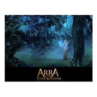 ARRA- Mystic Forest Ritual-Postcard Postcard