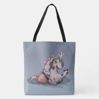 ARRACCO ALIEN CARTOON TOTE BAG