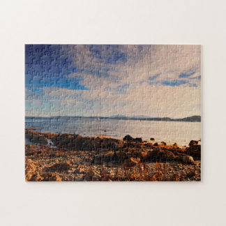 Arran from Toward Point, Firth of Clyde Scotland Jigsaw Puzzle