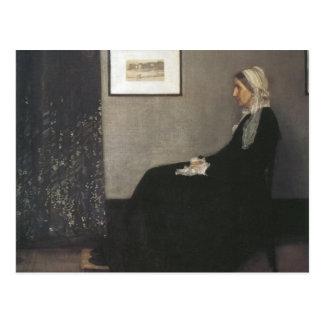 Arrangement in Grey and Black - Whistler s Mother Postcard
