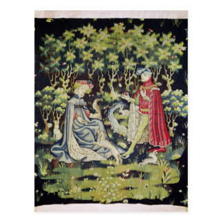 Arras Tapestry, Offering of the Heart Postcard