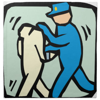arrest napkin