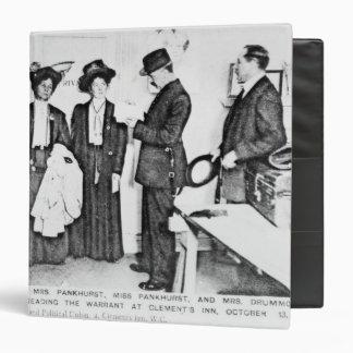 Arrest of Mrs Pankhurst Binder