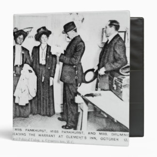 Arrest of Mrs Pankhurst Binders