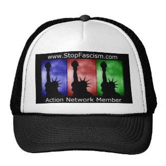 Arrêtez le casquette de membre de réseau d'action