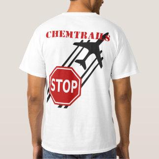 Arrêtez le T-shirt de Chemtrails