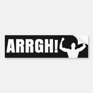 ARRGH! BUMPER STICKER