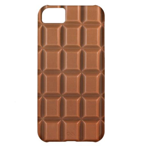 Arrière - plan d'une barre de chocolat coques iPhone 5C