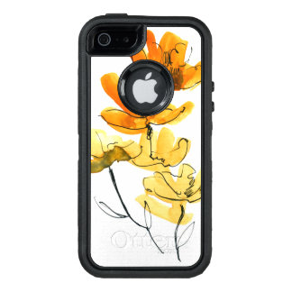 Arrière - plan floral abstrait coque OtterBox iPhone 5, 5s et SE