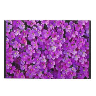 Arrière - plan floral de violettes pourpres