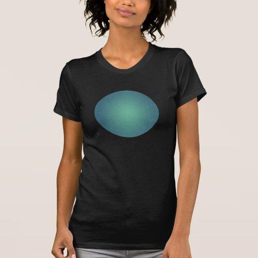 Arrière - plan turquoise de BlueTurquoise de rétro T-shirt