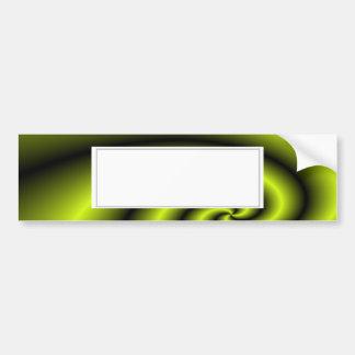 Arrière - plan vert de remous autocollant de voiture