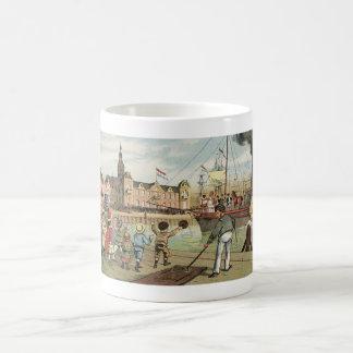 Arrival of Sinterklaas Dutch St. Nick Vintage Coffee Mug
