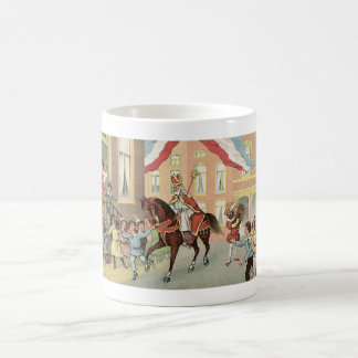 Arrival of Sinterklaas Dutch St. Nick Vintage Coffee Mug