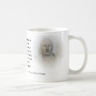 Arrogance (Marcus Tullius Cicero) Coffee Mug