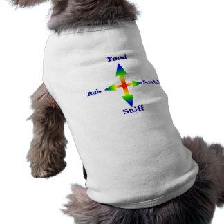 arrow 4 way, Food, Rub, Scratch, Sniff Shirt