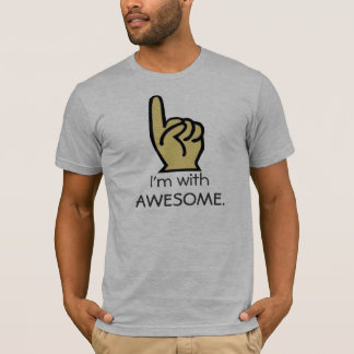 arrow, I'm with, AWESOME. T-Shirt