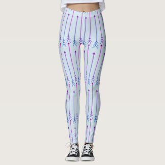 Arrow print leggings