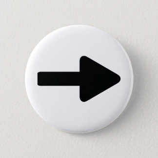 arrow right icon black 2 inch round button