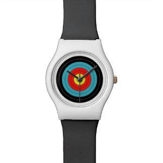 arrow target wrist watch