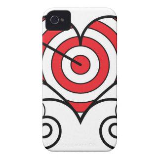 Arrow thru Heart iPhone 4 Cases