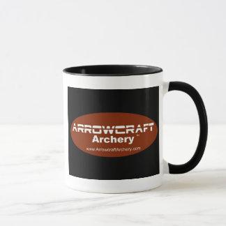 Arrowcraft Archery Mug with black handle