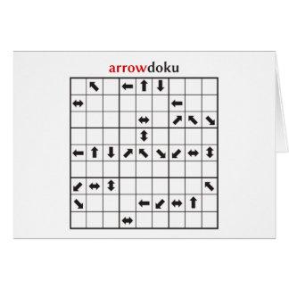 arrowdoku card