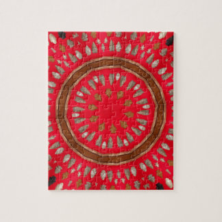 arrowhead pattern jigsaw puzzle
