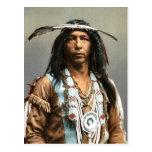 Arrowmaker An Ojibwa Brave1903 Vintage Indian Post Cards