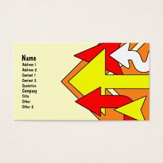 Arrows Business Card