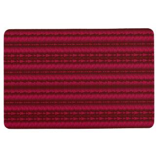 Arrows Inline Red-Colors Floor Mat