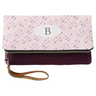 Arrows Pink & Purple - Clutch