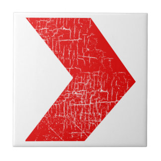 arrows red pattern ceramic tiles
